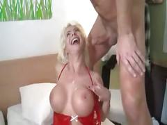 Blonde mom sex
