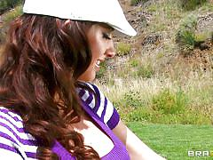 outdoor, big cock, blowjob, big boobs, brunette, cricket, sexy ass, squeezing tits, fingering clitoris, hard nipples, karina white, keiran lee, big tits in sports, brazzers, jugg cash