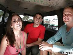 Jayden jaymes and her great bangbus performance