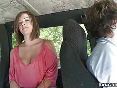 Sierra miller and the bang bus