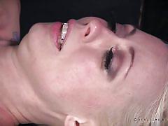 milf, orgasm, blonde, threesome, anal, bdsm, torture, vibrator, fingering, real time bondage, lorelei lee