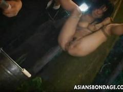 Sacrificed asian lass so her pussy gets orgasmic