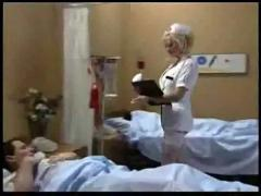 Hot nurse needs a sample