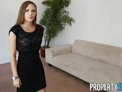 Propertysex - hot young petite realtor makes hardcore sex video with client
