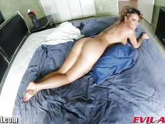 Bootylicious babe with tattoos got fucked big time