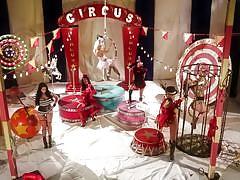 Wild circus orgy