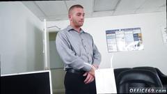 blowjob, gay, office