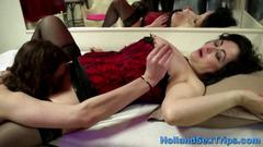 Mature bimbo does her john like a pro