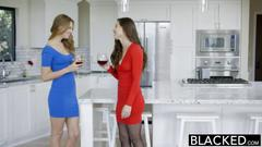 Blacked two best friends jillian janson and casey calvert share a big black cock