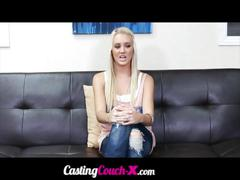Castingcouchx sexy 20 year old college student...
