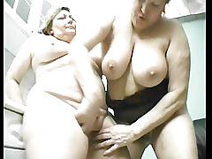 Old fat lesbians have fun