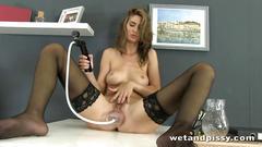 squirting, european, orgasms, toy