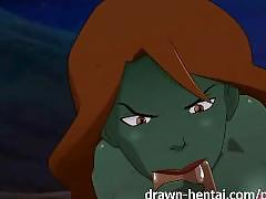 Young justice hentai - desert heat for megan