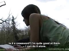 amateur, brunette, hardcore, european, teen, pov, public sex,
