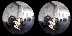 Erotic compilation of gorgeous amateur girls teasing in vr