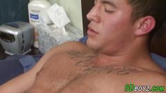 Gay amateur rides dick anal