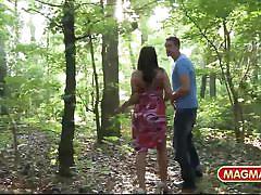 Magma film german amateur public flashing