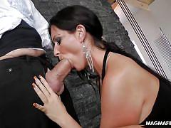 milf, facial, german, cumshot, blowjob, brunette, big dick, magma film