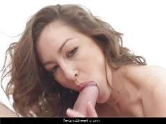Veronica hoyos fills her latin holes with 3 cocks