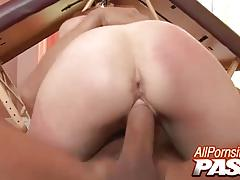 Hot marie mccray gets a mouthful of cum
