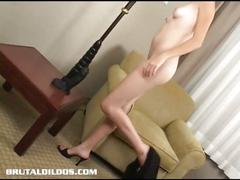 Amateur plays with huge toy