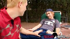 Jeremiah johnson and casey wood outdoor sex session