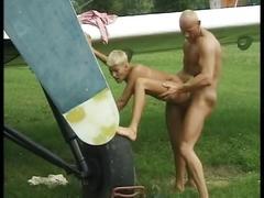 Sexy euro babe fucking