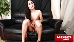 masturbation, small tits, fetish, heels, shemale, solo, ladyboy