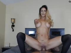 Hot couple fucks on cam