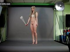 Kinky gymnast naked teen