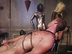Pain and pleasure in aubrey's trans dungeon