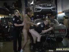 blowjob, hardcore, uniforms, cop, interracial, police, blonde, cumshot, uniform, facial, bigtits, three some