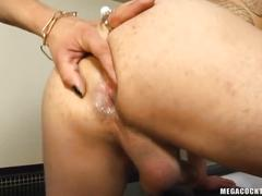 Big dick shemale adriana rodrigues fucking guy hard