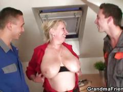 mature, reality, threesome, czech, grandmafriends, old, 3some, mother, granny, grandma
