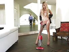 Cleanliness is not the main thing in this house @ transsexual girlfriend experience #05