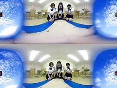 asian, small tits, uniforms, school, japanese, cosplay, petite, virtual, reality, japanese schoolgirl, jav, hd, 360 vr, pov, vr, jav vr, teenager, young