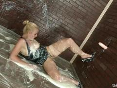 Slimewave amazing antonia gets a mouth full of cum