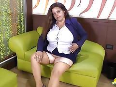 Naughty lusty matures chubby solo masturbation