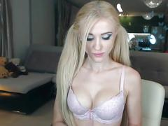 blonde, webcam, lip licking fetish, lipstick, tease, close up, cam, private