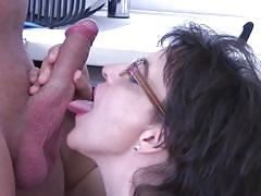 Mature lady loves to suck