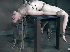Bambi belle was subjected to pain play and sex