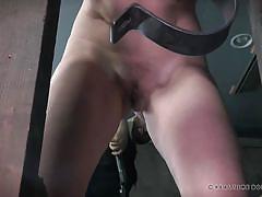 milf, bdsm, redhead, punishment, bondage cage, device bondage, ass whipping, real time bondage, kel bowie