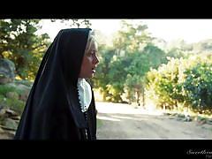 milf, blonde, masturbating, nuns, sweetheart video, charlotte stokely