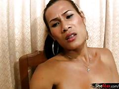ladyboy, tranny, big cock, big tits, big lips, blowjob, handjob, jerk off, deepthroat, dress, panties, cumshot, dancing, asians, pov, ladyboy player, shemax network