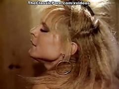 Nina hartley, nina deponca, jerry butler in classic sex movie
