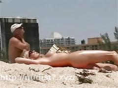 teen, amateur, beach, public, nudist, nudism