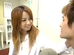 Japanese sex: japanese creampie nurse