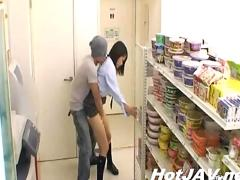 Jp girl sex in shop