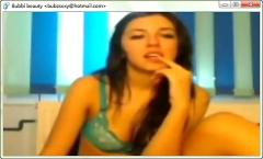 Webcam with bubz-sexy beauty girl on msn live messenger lover