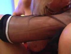 Carol s sexy stocking teaser